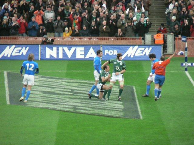 Ireland try!