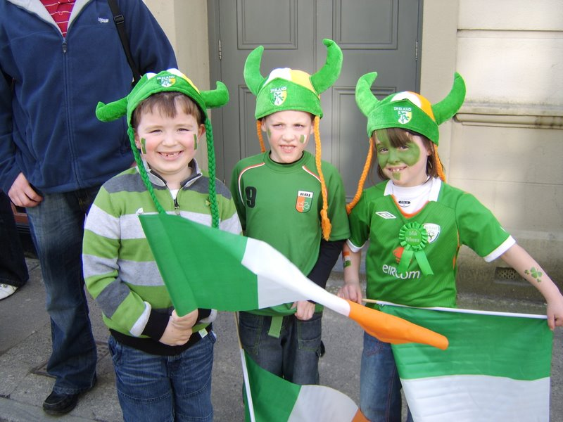 St. Patrick's BNS on Parade