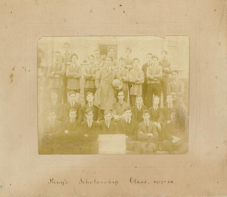 St. Gerald's College King's Scholarship Class 1919 - 1920