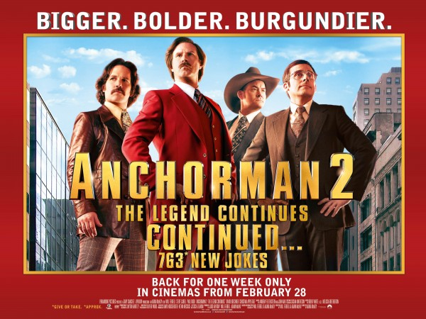 Anchorman 2 The Legend Continues Continued