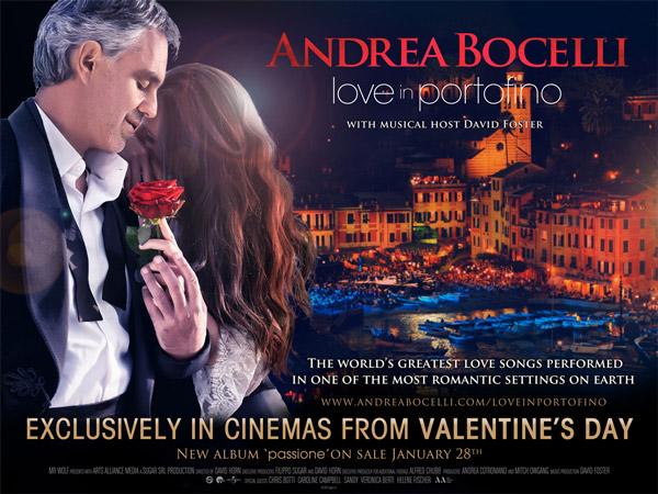 Andrea Bocelli In From Portofino