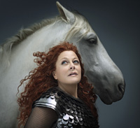 Deborah Voigt as Brünnhilde