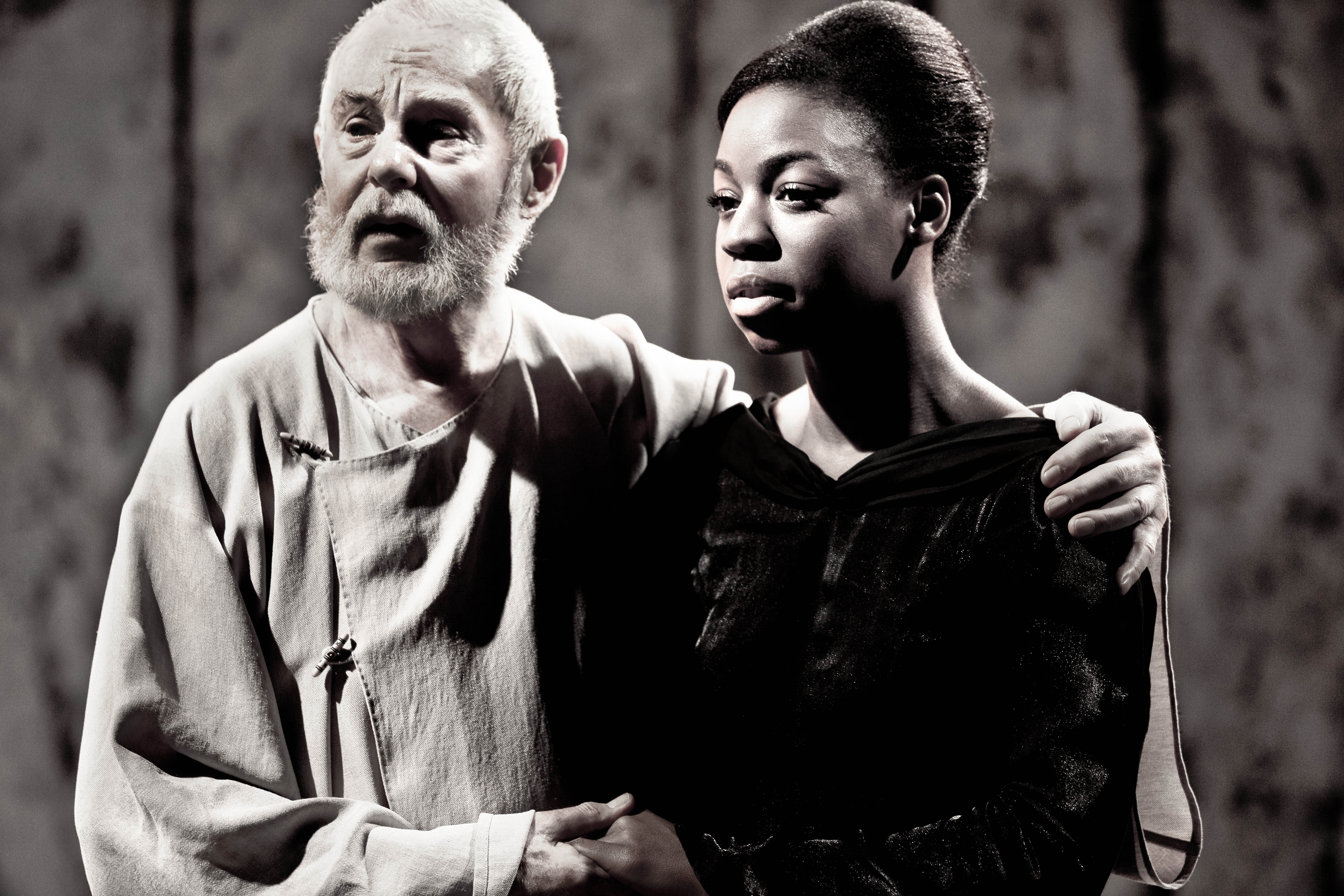 Derek Jacobi and Pippa Bennett Warner by Johan Persson