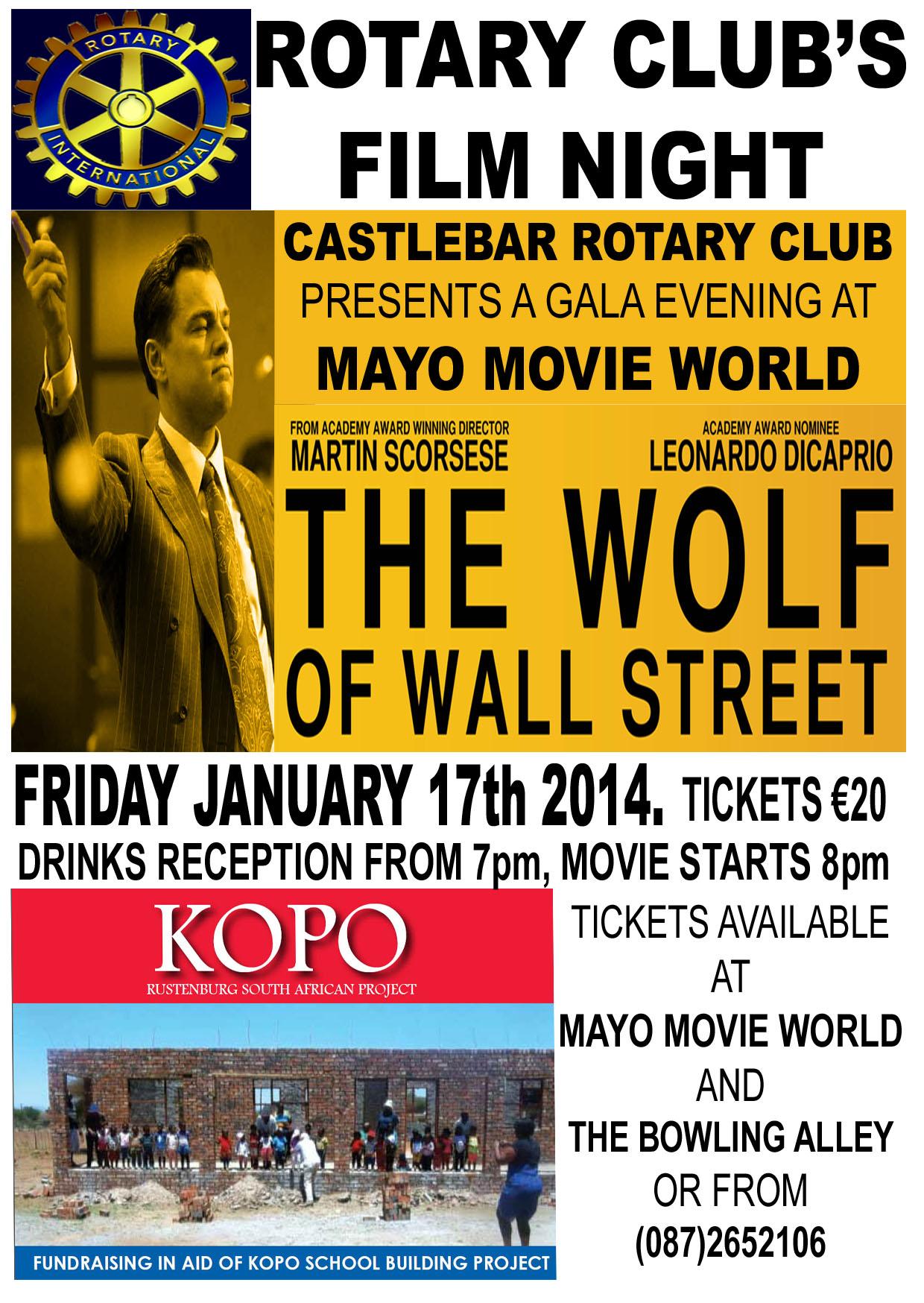 Rotary Club Film Night