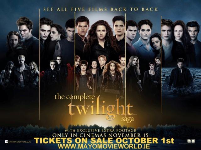 The Complete Twlight  Saga