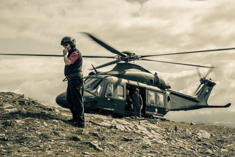 Air Rescue at Croagh Patrick