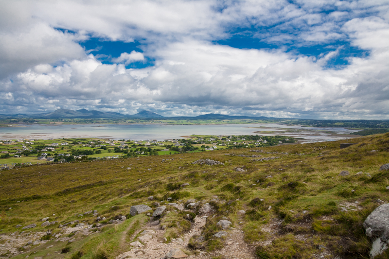 A view from Croagh Patrick