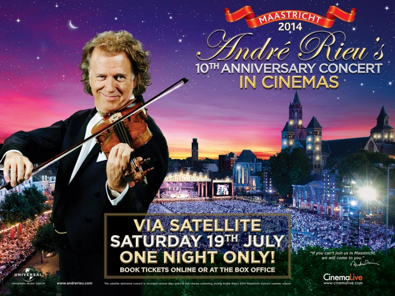 André Rieu's 10th Anniversary Concert