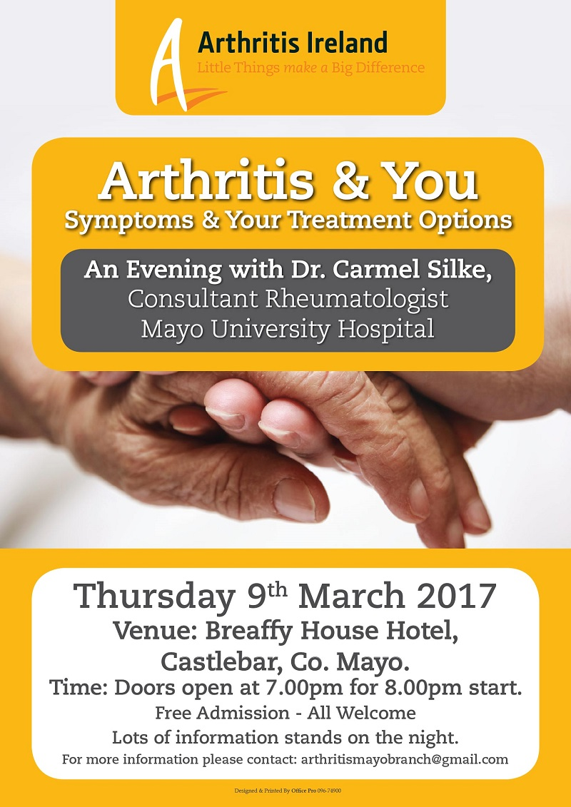 Castlebar - County Mayo - Information Evening with Consultant