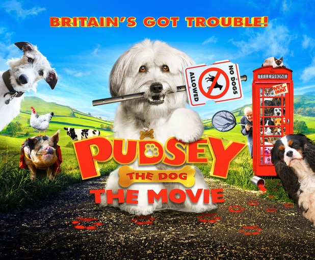 Pudsey The Dog Thje Movie