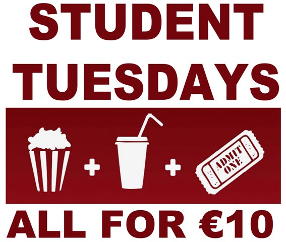 Student Tuesday Deal