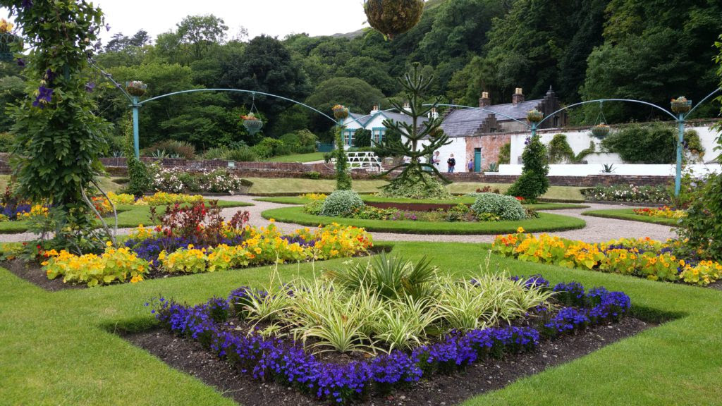 Image result for kylemore abbey gardens