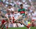 Michael Donnelly photographed Mayo v Tyrone in the All-Ireland Final at Croke Park