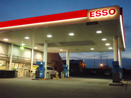 A contributor has uploaded photos of fuel prices in one garage in Castlebar on 25th September