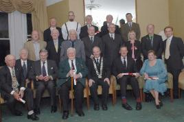 Castlebar Town Council accorded a Civic Reception to the Special Friends And Supporters of the Mayo Garden of Remembrance. Click on photo for details from Tom Campbell.
