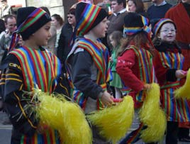 Crimlin National School at the St. Patrick's Day Parade - click for more from Keith McGreal.