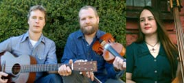 The Foghorn Trio, Old-Time American Music tonight in the Linenhall. Click photo for more.