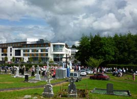 Jack Loftus has photos of last Sunday's Cemetery Sunday public ceremonies at Castlebar's old graveyard. Click on photo for more.