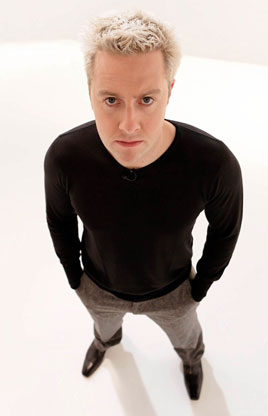 Merlin 'Mentalist of the Year 2009' Award Winner Keith Barry performs onstage at the Royal Theatre Saturday 18 July. Click on photo for details.