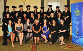 Ken Wright photographed the graduates from the Anne Tobin School of Beauty. Click on photo for details and more photos.