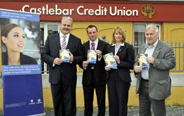 Castlebar Credit Union has launched a new Pension-PRSA (Personal Retirement Savings Account) service for its members. Click on photo for the details.