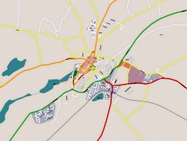 You can help to update the open source maps of Castlebar. Click on map for more.