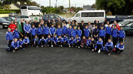 Ken Wright has photos of Manulla FC U12 teams with their managers and sponsors on the road to Croke Park last Saturday. Click on photo for more.