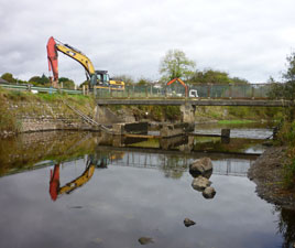 Jack Loftus has photographs of works at the location of the new Bridge at St. Geralds/Aldi. Click on photo for more.