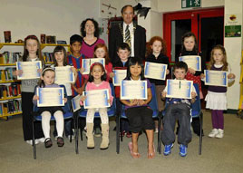 Ken Wright has photos of some young achievers who took part in the Castlebar Library Summer Reading Challenge. Click on photo for more.