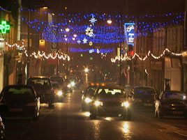 Jack Loftus photographed some of the town's main Christmas Lighting displays. Click on photo for lots more.