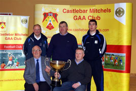 Noel Byrne photographed the launch of the Prendergast Cup Competition at  Castlebar Mitchels.