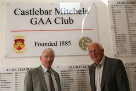 Noel Byrne was at last weekend's celebrations of Castlebar Mitchels GAA Club's 125 Year celebrations. Click on photo for more from this great occasion.