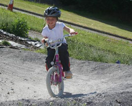 Junior BMXers in action - Junior road safety officers enjoyed an evening out on the BMX track Ballinrobe. Click on photo for more from Noel Gibbons.