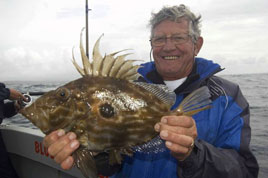 What is this strange looking fish? Check out the Western River Basin District angling reports - Kevin Crowley has the latest Mayo/Galway region report.
