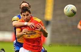 Keith Heneghan captured last Sunday's Action between Castlebar Mitchels and Knockmore. Click on photo for more.