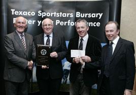 Castlebar Mitchels scoop 2010 Texaco Sportstars Bursary Award. Click on photo for the details from Noel Byrne.