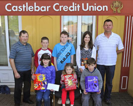 Castlebar Credit Union Easter Colouring competition attracted over 700 entries. Click on photo to check out the winners.