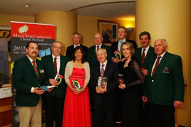 At the recent launch of the Mayo Choral Festival 2012. Click on photo for more details.