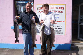 The angling season now into September with some record catches. Click on photo for last week's report from Ballina.