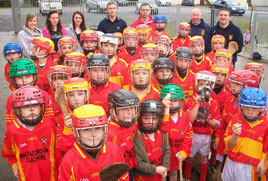 Castlebar Mitchels young hurling and camogie players visit Clarinbridge. Click on photo for the details.