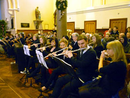 Jack Loftus photographed the Castlebar Concert Orchestra who played at the Christmas Mass in Castlebar Parish Church. Click above to view the full gallery.