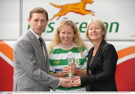 Emma Mullin, Castlebar Celtic, is the Bus Eireann Women's National League Player of the Month for January. Click on photo for more.