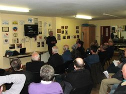 Monday night April 2nd saw the set-up/information meeting for The Castlebar Men's Shed get under way.