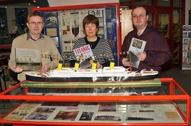 The Titanic Exhibition at Castlebar Library is on display until 26 April 2012. Click on photo for the details from Ken Wright.