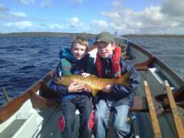 The mayfly is up on Lough Corrib and Lough Mask is fishing well. Click photo for the latest angling news from the Galway Mayo region of the Western River Basin District.