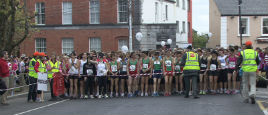 Jack Loftus was at the starting line for yesterday's Women's Min-Marathon. Click on photo for more.