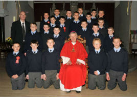 Ken Wright has photos of St Patrick's Boys and St Angela's Girls - confirmed recently. Click on photo for more.