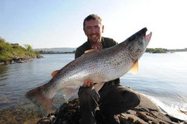 Check out this monster caught on Lough Corrib. The biggest fish in over 100 years. Click on photo for the details.
