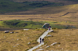 Robert Justynski has photos from Diamond Hill in the Connemara National Park. Click above to visit this beautiful spot.