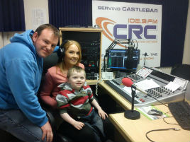 Little Jack Holmes suffers from cerebral palsy and requires a special operation to help him walk. Click on photo for more details.